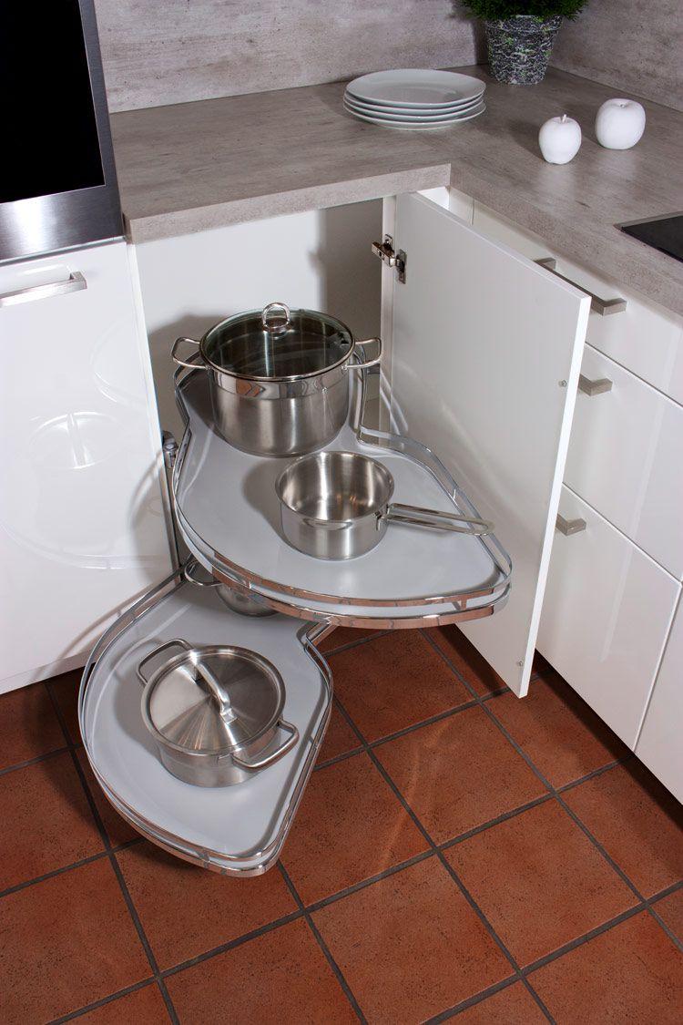 Eckschrank Küche - Ihr Küchenfachhändler aus Simmern: KüchenTreff