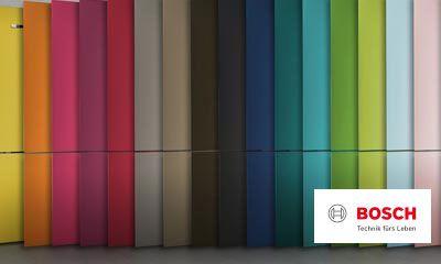 Bosch Kühlschrank Orange : Bosch vario style farbige fronten für ihren kühlschrank ihr